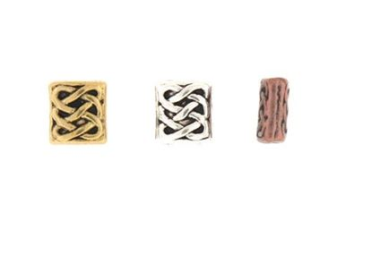 Picture of Spacer Bead Oblong Patterned