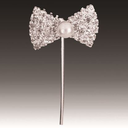 Picture of Diamante Pick Bow with Pearl