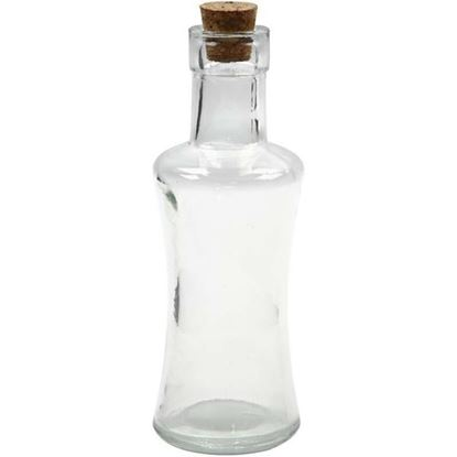 Picture of Cork Topped Glass Bottle