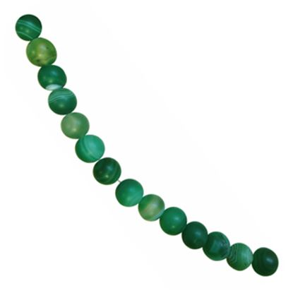 Picture of Agate Beads 12mm Green