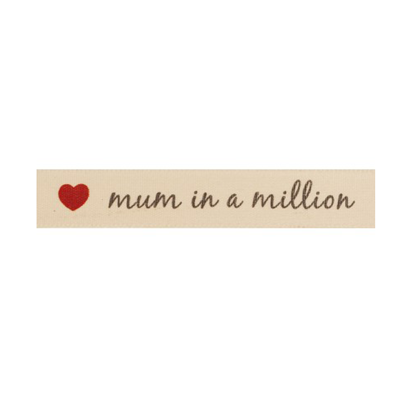 Picture of Mum in a Million Ribbon 15mm