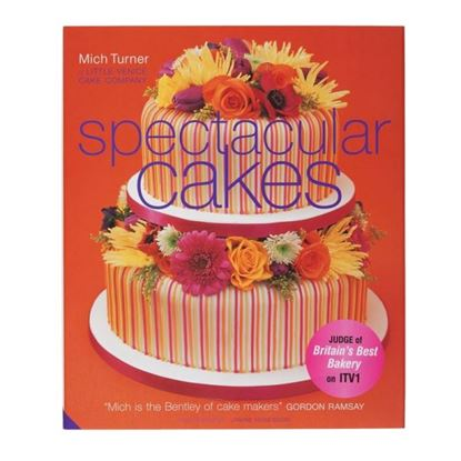 Picture of Mich Turner Book Spectacular Cakes