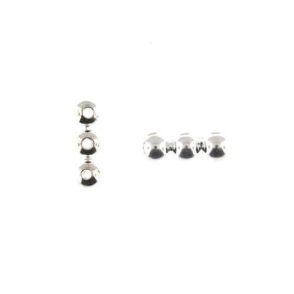 Picture of 3 Hole Spacer Silver