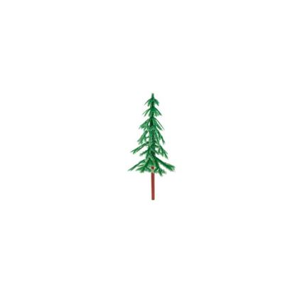 Picture of Green Plastic Fir Tree