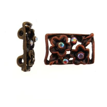 Picture of Diamante floral spacer Small