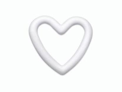 Picture of Polystyrene Heart 20cm