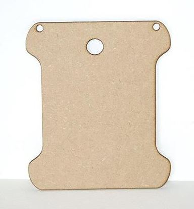 Picture of MDF Bobbin Plaque Straight