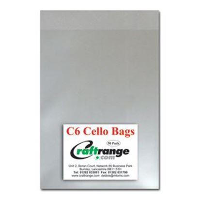 Picture of Cello Bags C6 Pk 50