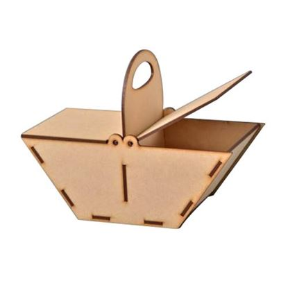 Picture of MDF Candy Basket Kit Large