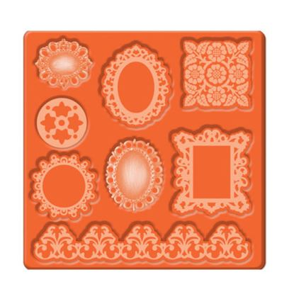 Picture of Mod Podge Mold Ornaments