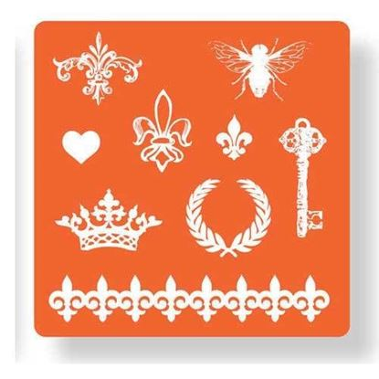 Picture of Mod Podge Mold Royal Icons