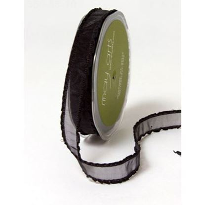 Picture of Sheer Ruffle Edge Ribbon