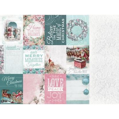 """Picture of Kaisercraft 12"""" x 12"""" Silver Bells Papers"""