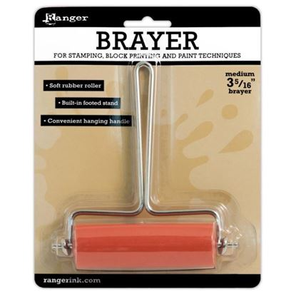 Picture of Brayer - Soft Rubber Medium