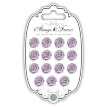 Picture of Craft Consortium Always and Forever The Wedding Collection Resin Flowers - Rose