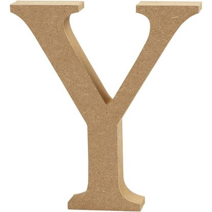 Picture of MDF Wooden Letter Y (8cm)