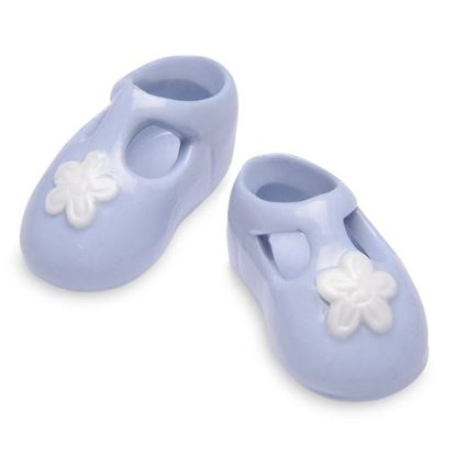 Picture of Porcelain Booties Blue