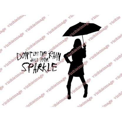 Picture of Visible Image Stamp - Sparkle in the Rain