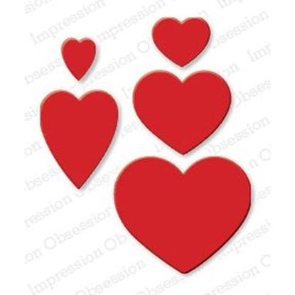 Picture of Impression Obsession Die Heart Set