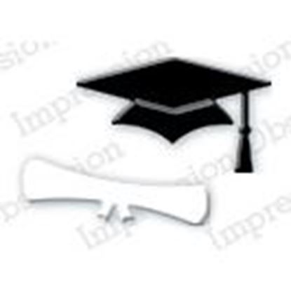 Picture of Impression Obsession Die Mini Mortarboard