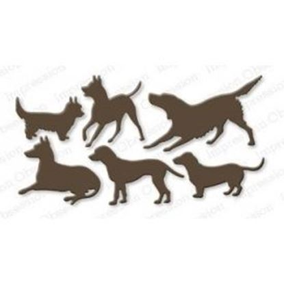 Picture of Impression Obsession Die Dogs Set