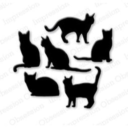 Picture of Impression Obsession Die Cats Set