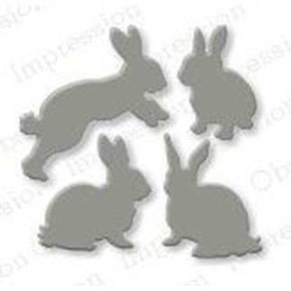 Picture of Impression Obsession Die Rabbits