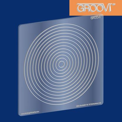 Picture of Groovi Plate A5 Square Circle Nested