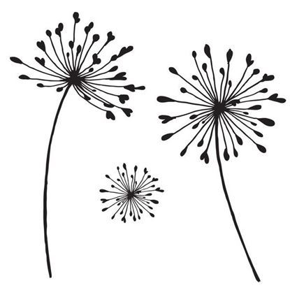 Picture of Clarity Clear Stamp Set - Aliums