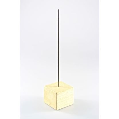 Picture of Wooden & Metal Base 7 x 7 x 30cm