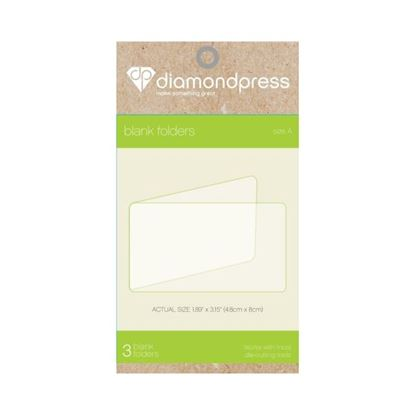 Picture of Diamond Press Blank Folder Size A