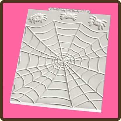 Picture of Katy Sue Design Mat - Spiders & Web