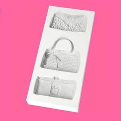 Picture of Katy Sue Embellishment Moulds - Designer Bags