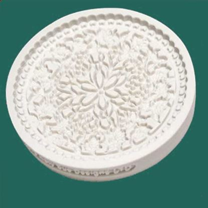 Picture of Katy Sue Designs Cupcake Mould - Floral Lace