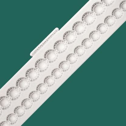 Picture of Katy Sue Designs Border Mould - Beaded Pearls