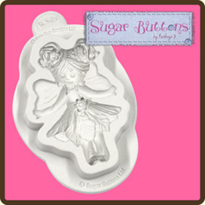 Picture of Katy Sue Sugar Buttons Moulds - Fairy