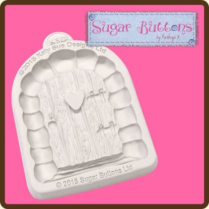 Picture of Katy Sue Sugar Buttons Mould - Enchanted Door