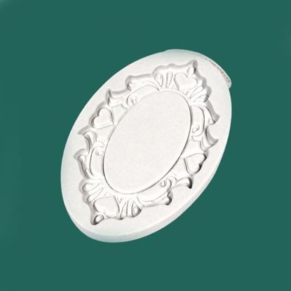 Picture of Katy Sue Decorative Plaque - Oval Hearts