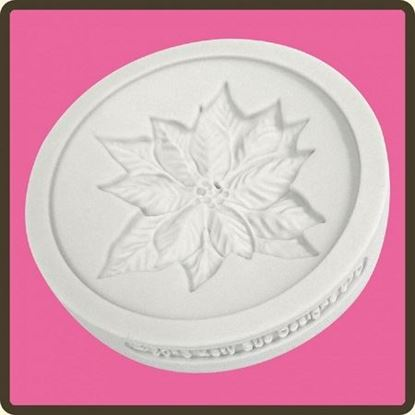Picture of Katy Sue Design Cupcake Mould - Poinsettia