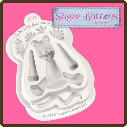 Picture of Katy Sue Sugar Button Mould - Lion