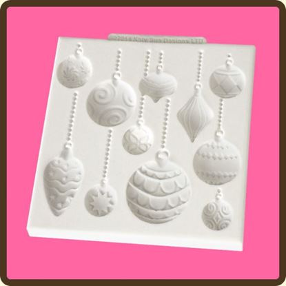 Picture of Katy Sue Design Mat - Christmas Baubles