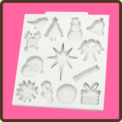Picture of Katy Sue Design Mat - Christmas Embellishments