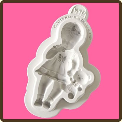 Picture of Katy Sue Designs Figure Mould - Baby Girl