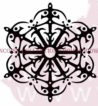Picture of Woodware Stamp - Fancy Snowflake