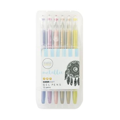 Picture of Kaiser Colour Gel Pens - Metalics