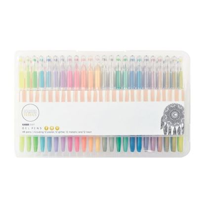 Picture of Kaiser Colour Gel Pens - 48 Assorted