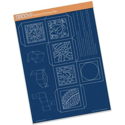 Picture of Groovi Christmas Box Template