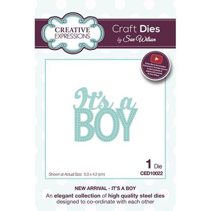 Picture of Sue Wilson New Arrivals Die - It's a Boy