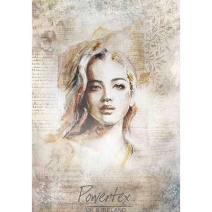 Picture of Powertex Silk Paper - Portrait 1