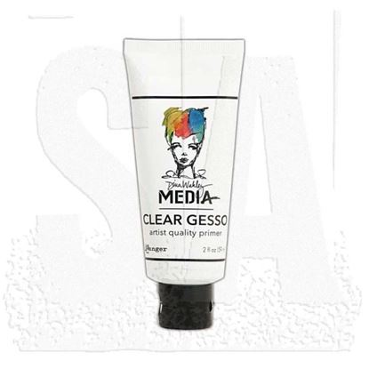 Picture of Dina Wakley Clear Gesso 2oz